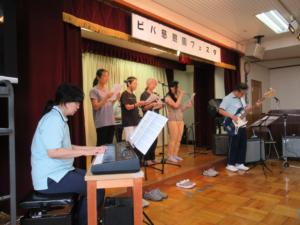 慈照園バンドの歌と演奏
